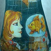 """Одежда ручной работы. Ярмарка Мастеров - ручная работа туника валяная """"Исполнение желаний"""". Handmade."""