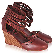 Обувь ручной работы. Ярмарка Мастеров - ручная работа Anatolia, женственные, стильные босоножки.. Handmade.
