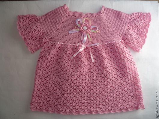 """Одежда для девочек, ручной работы. Ярмарка Мастеров - ручная работа. Купить Детское платье """" Розовые мечты"""". Handmade. Розовый"""