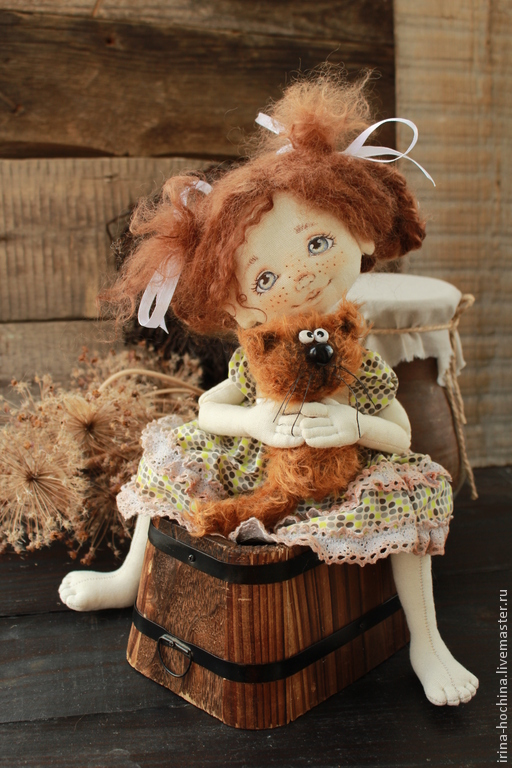 Подушка игрушка кукла своими руками