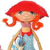 Куклы и игрушки ручной работы. Ярмарка Мастеров - ручная работа СКИДКА! Тыквоголовка Веснушка. Handmade.