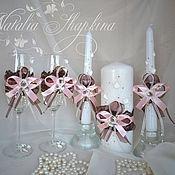 Свадебный салон handmade. Livemaster - original item Wedding set