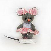 Мягкие игрушки ручной работы. Ярмарка Мастеров - ручная работа Мышка норушка. Handmade.