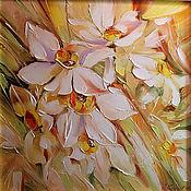 Картины и панно handmade. Livemaster - original item Delicate bouquet. Handmade.