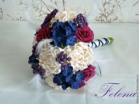 Яркий, стильный букет для свадьбы в стиле Маскарад!