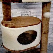 Когтеточки ручной работы. Ярмарка Мастеров - ручная работа Домик для кошки номер 301. Handmade.