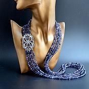 Украшения handmade. Livemaster - original item Necklace from Iolita FALKOVOE Beads from natural stones Author`s work. Handmade.
