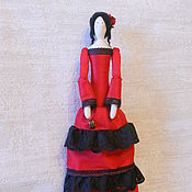 Куклы и игрушки ручной работы. Ярмарка Мастеров - ручная работа Тильда Сеньорита. Handmade.