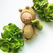 Куклы и игрушки ручной работы. Ярмарка Мастеров - ручная работа Горошек. Handmade.
