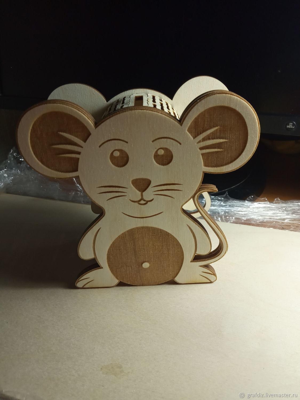 Копилка мышка, Копилки, Новосибирск,  Фото №1