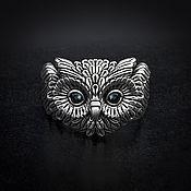 Украшения handmade. Livemaster - original item Ring: Cute Owl Ring. Handmade.