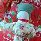 Мамушка, Мамка, кукла-оберег, красный, кукла из ткани, для души, пеленашка, оберег семьи, народная русская кукла, традиционная обережная кукла, восьмое марта
