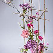 Композиции ручной работы. Ярмарка Мастеров - ручная работа Декор для дома, искусственная композиция, цветы для интерьера. Handmade.