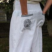 Одежда handmade. Livemaster - original item Light summer trousers