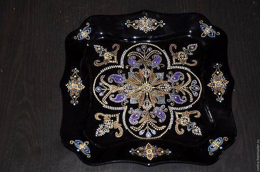 Декоративная тарелка. Оригинальный подарок.