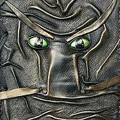"""Канцелярские товары ручной работы. Ярмарка Мастеров - ручная работа Блокнот """"Взгляд Дракона"""" А5. Handmade."""