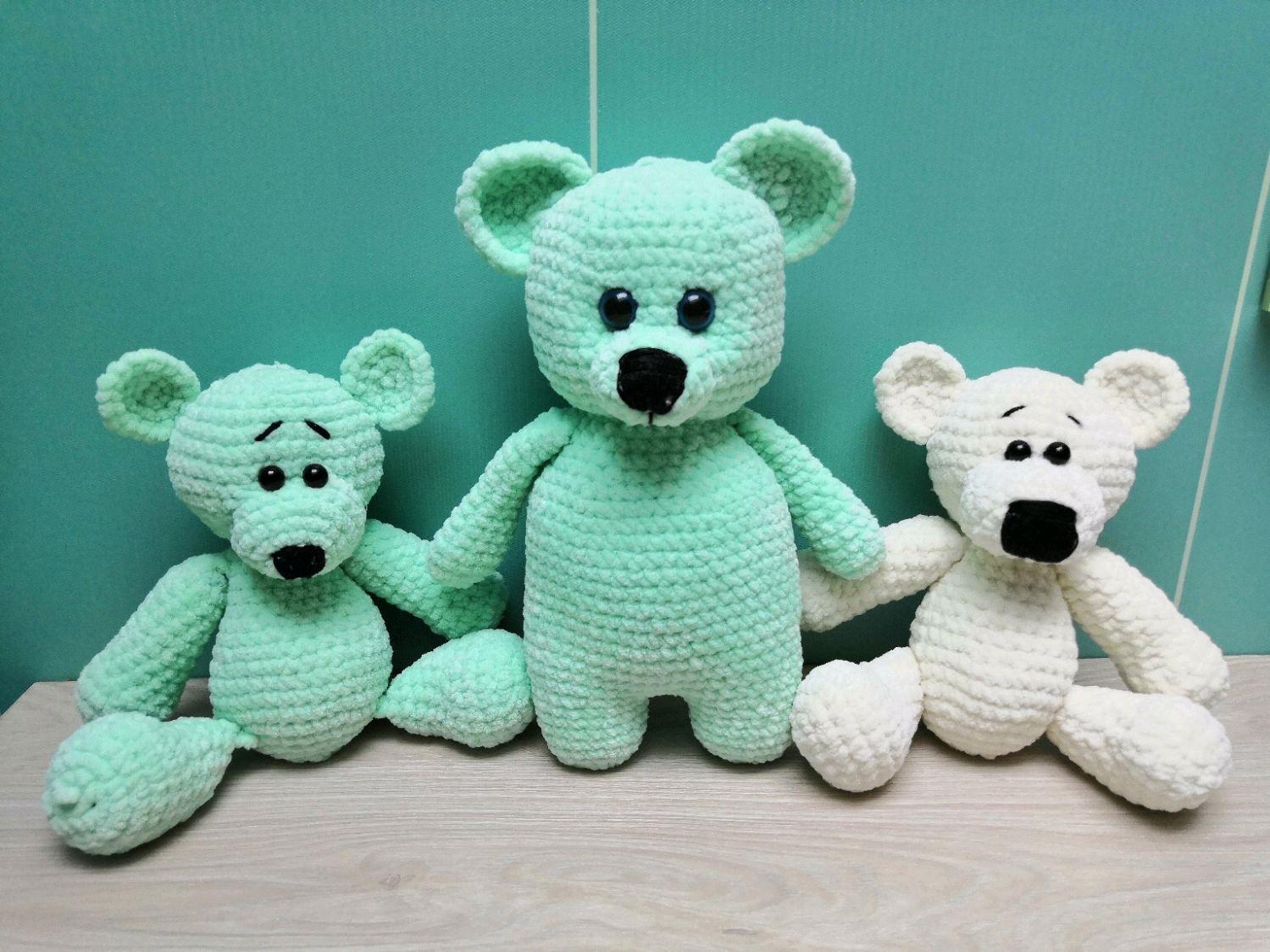 Милые медвежата, Мягкие игрушки, Москва,  Фото №1