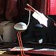 Статуэтки ручной работы. Ярмарка Мастеров - ручная работа. Купить птица - Секретарь). Handmade. Разноцветный, подарок, интерьерная скульптура, статуэтка