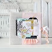 Канцелярские товары ручной работы. Ярмарка Мастеров - ручная работа Детский фотоальбом, Маленькая принцесса. Handmade.