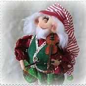 Куклы и игрушки ручной работы. Ярмарка Мастеров - ручная работа Кукла. Рождественский гном. Handmade.