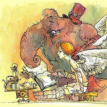 """Картины и панно ручной работы. Ярмарка Мастеров - ручная работа """"сказка"""". Handmade."""