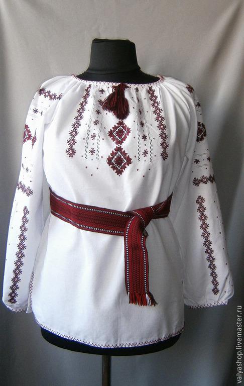 Блузки ручной работы. Ярмарка Мастеров - ручная работа. Купить Блуза-вышиванка из домотканого полотна Карпатские краски 2. Handmade.
