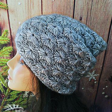 Accessories handmade. Livemaster - original item Knitted hat, beanie hat, stocking cap. Handmade.