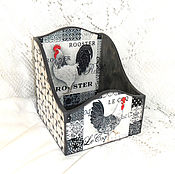 Для дома и интерьера handmade. Livemaster - original item Box for spices Cock.. Handmade.