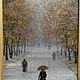 Copyright the painting First snow. Pictures. Vladimir Tarasov. Online shopping on My Livemaster.  Фото №2
