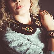 Аксессуары handmade. Livemaster - original item Collar necklace mink