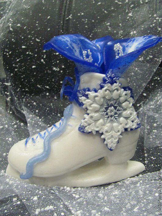 Мыло ручной работы. Ярмарка Мастеров - ручная работа. Купить Фигурный конек Ароматный  (мыло ). Handmade. Новогодний подарок