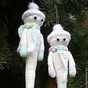Куклы и игрушки ручной работы. Ярмарка Мастеров - ручная работа Сосульки вязаные. Handmade.
