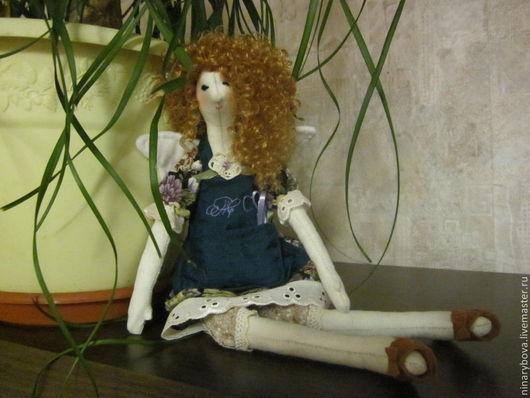 Куклы Тильды ручной работы. Ярмарка Мастеров - ручная работа. Купить кукла тильда Фея парикмахер. Handmade. Кукла Тильда