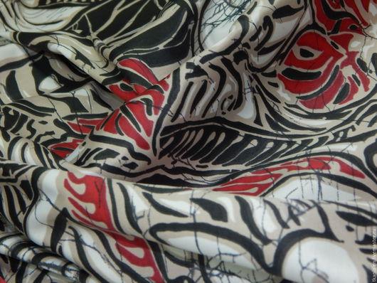 Шитье ручной работы. Ярмарка Мастеров - ручная работа. Купить Ткань сатин, Италия. Handmade. Комбинированный, ткани для одежды