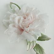 Цветы и флористика handmade. Livemaster - original item Silk flower rose