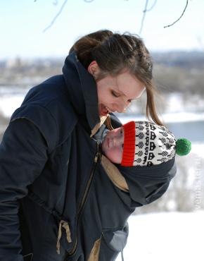Для будущих и молодых мам ручной работы. Ярмарка Мастеров - ручная работа. Купить слингопальто. Handmade. Слингопальто, для детей