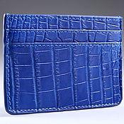 Сумки и аксессуары handmade. Livemaster - original item Cardholders crocodile IMA0135C4. Handmade.