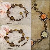 Материалы для творчества handmade. Livemaster - original item The basis for the bracelet, 5 basics, 8mm. Art.OB16. Handmade.