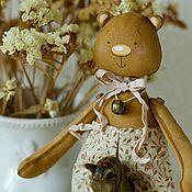 Куклы и игрушки ручной работы. Ярмарка Мастеров - ручная работа Кофейный мишка. Handmade.
