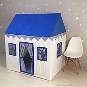 """Домики ручной работы. Ярмарка Мастеров - ручная работа Детский домик-палатка """"Blue Sky"""". Handmade."""