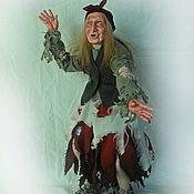 Мягкие игрушки ручной работы. Ярмарка Мастеров - ручная работа Баба яга из сказки Морозко. Handmade.