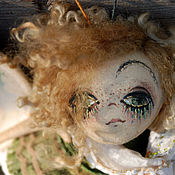 """Куклы и игрушки ручной работы. Ярмарка Мастеров - ручная работа """"Polly Green""""... Текстильная бабочка.. Handmade."""