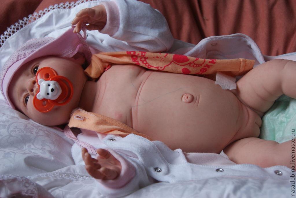 Купить полностью силиконовых кукол реборн