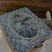 """Для дома и интерьера ручной работы. Ярмарка Мастеров - ручная работа коробочка """"магия лаванды"""". Handmade."""