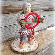 """Народная кукла ручной работы. Ярмарка Мастеров - ручная работа """"Спиридон-солнцеворот"""". Handmade."""