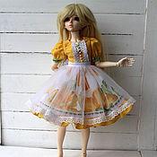 Куклы и игрушки handmade. Livemaster - original item Romantic dress for minifee.. Handmade.