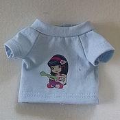 Одежда для кукол ручной работы. Ярмарка Мастеров - ручная работа Футболочка для Паолочки. Handmade.