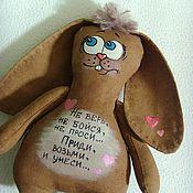 Куклы и игрушки ручной работы. Ярмарка Мастеров - ручная работа Ароматный зайка. Handmade.