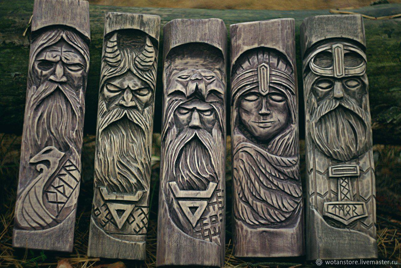 картинка идолов русичей темные язык