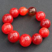 Украшения handmade. Livemaster - original item Bracelet made from hand-blown beads